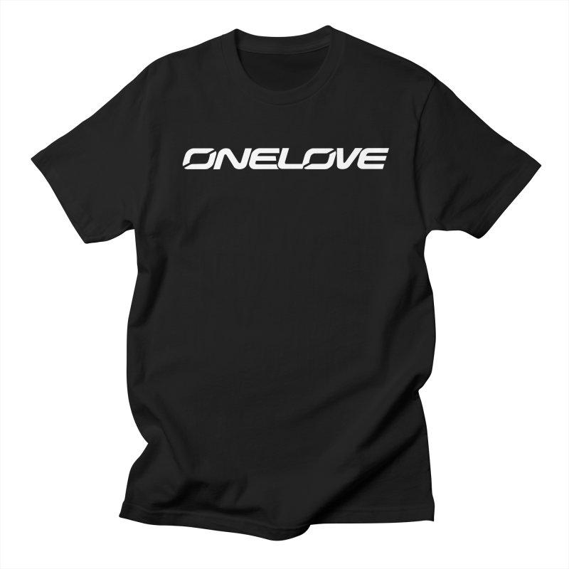Onelove - Onewheel - White Letters Men's T-Shirt by Onewheel Artist Shop
