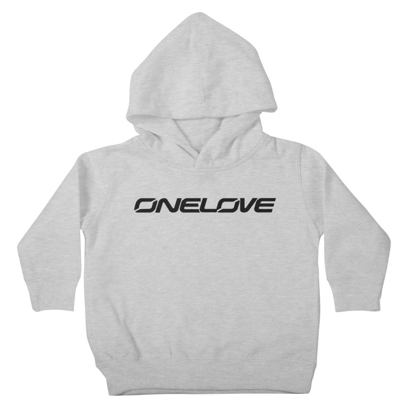 Onelove - Onewheel - Black Kids Toddler Pullover Hoody by Onewheel Artist Shop