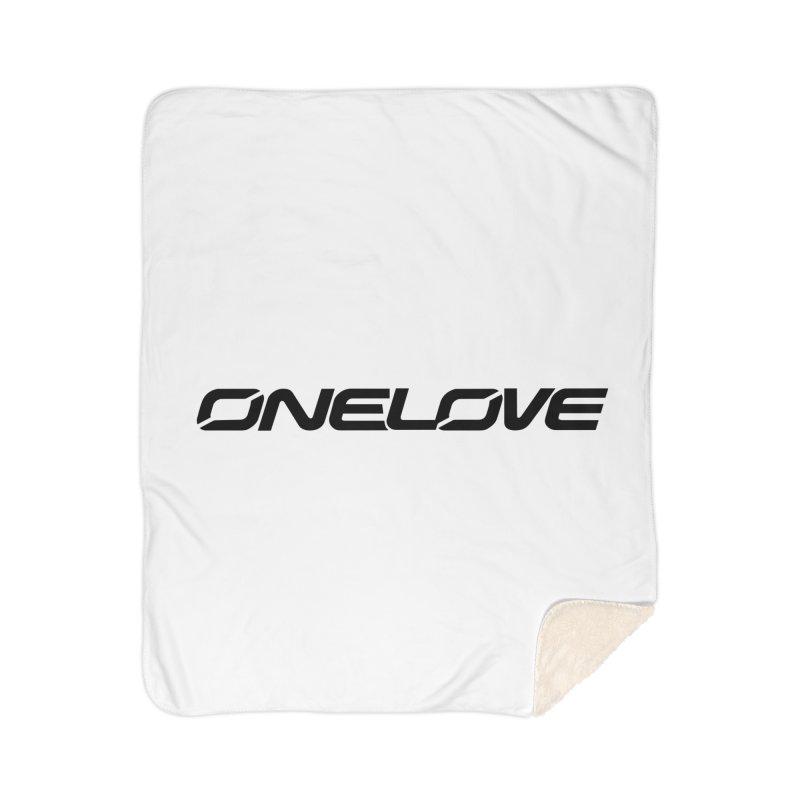 Onelove - Onewheel - Black Home Blanket by Onewheel Artist Shop
