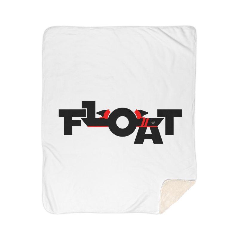 Float - Onewheel - Flight Fins - Black and Red Home Blanket by Onewheel Artist Shop