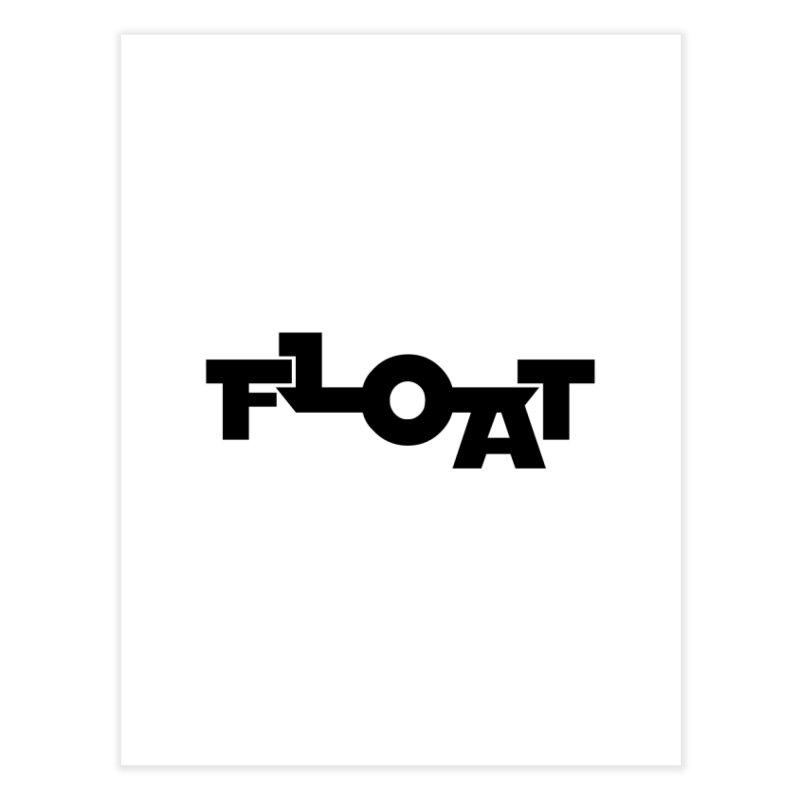 Float - Onewheel - Clean Black Home Fine Art Print by Onewheel Artist Shop