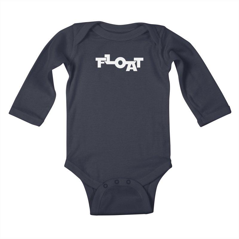 Float - Onewheel - Clean White Kids Baby Longsleeve Bodysuit by Onewheel Artist Shop