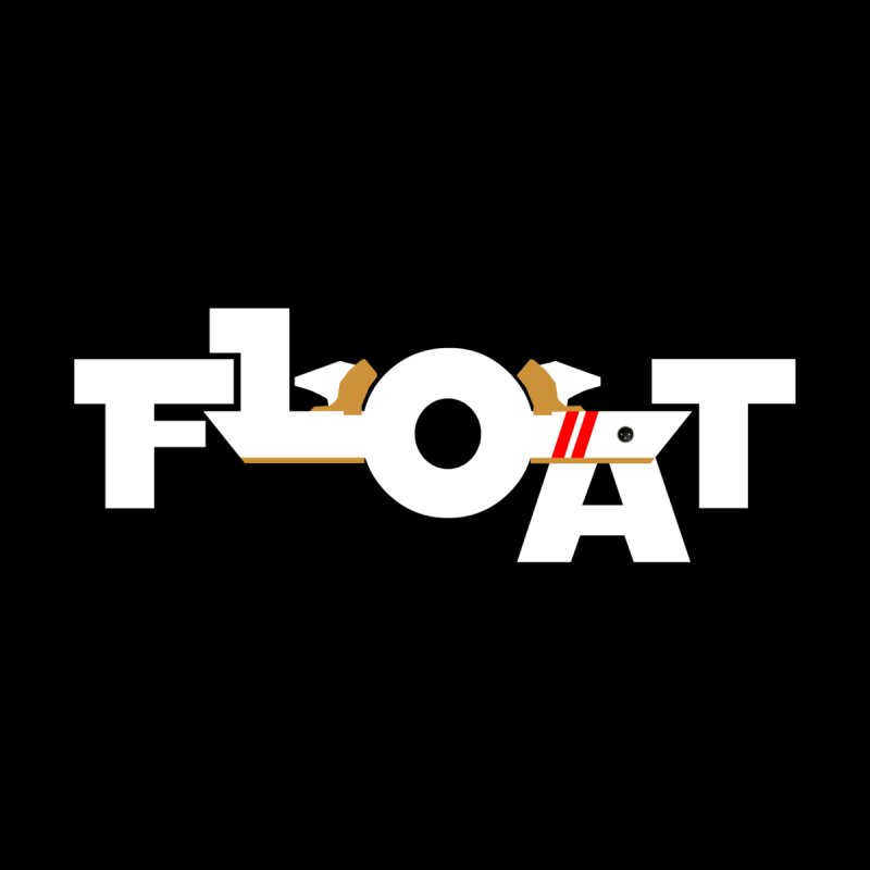 Float - Onewheel - OG White Red Goldy with Flight Fins Home Fine Art Print by Onewheel Artist Shop