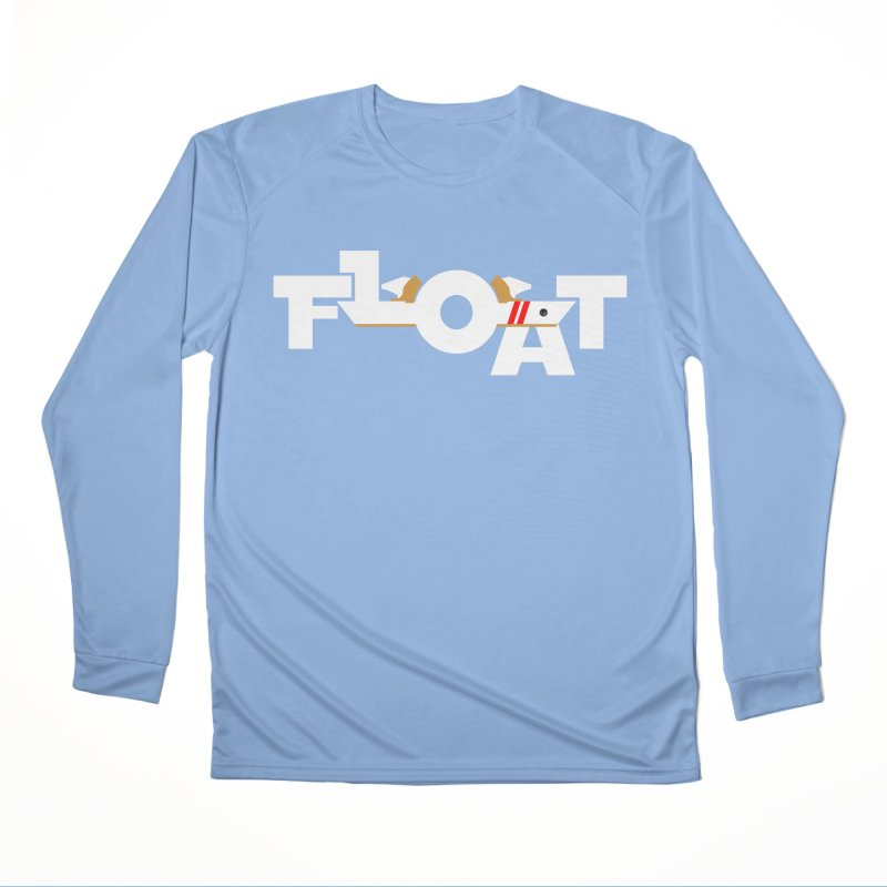 Float - Onewheel - OG White Red Goldy with Flight Fins Men's Longsleeve T-Shirt by Onewheel Artist Shop
