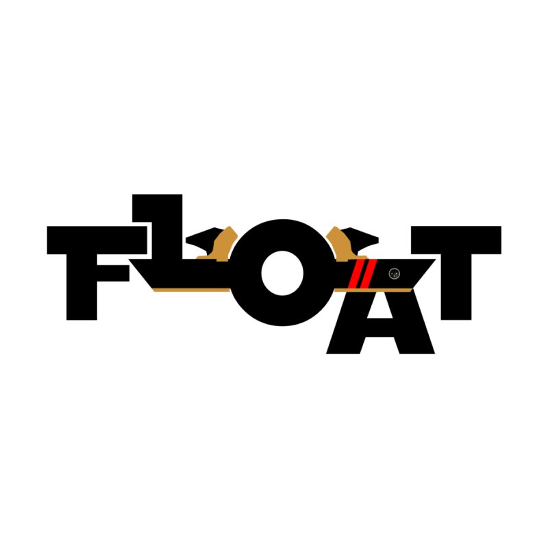 Float - Onewheel - OG Black Red Goldy with Flight Fins Men's T-Shirt by Onewheel Artist Shop