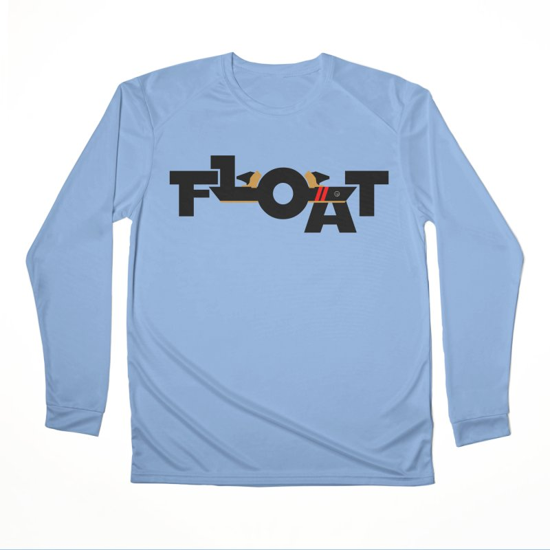 Float - Onewheel - OG Black Red Goldy with Flight Fins Men's Longsleeve T-Shirt by Onewheel Artist Shop