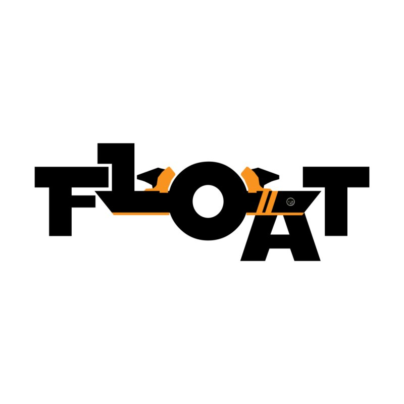 Float - Onewheel - Halloween 2019 Limited Edition - Black / Orange with Fins by Onewheel Artist Shop