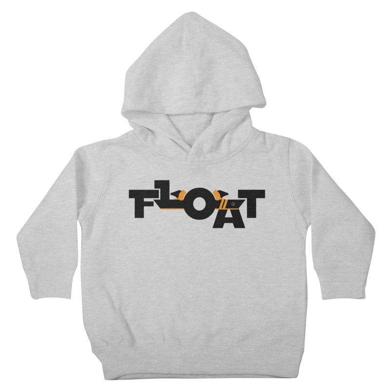 Float - Onewheel - Halloween 2019 Limited Edition - Black / Orange with Fins Kids Toddler Pullover Hoody by Onewheel Artist Shop