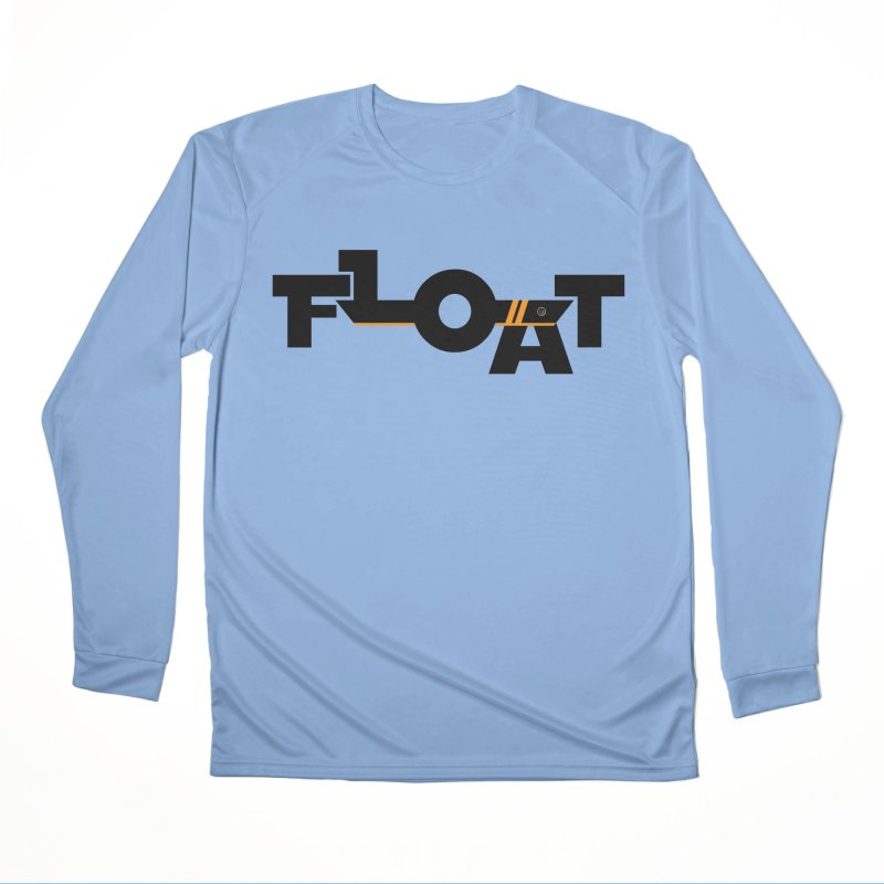 Float - Onewheel - Black / Orange Men's Longsleeve T-Shirt by Onewheel Artist Shop
