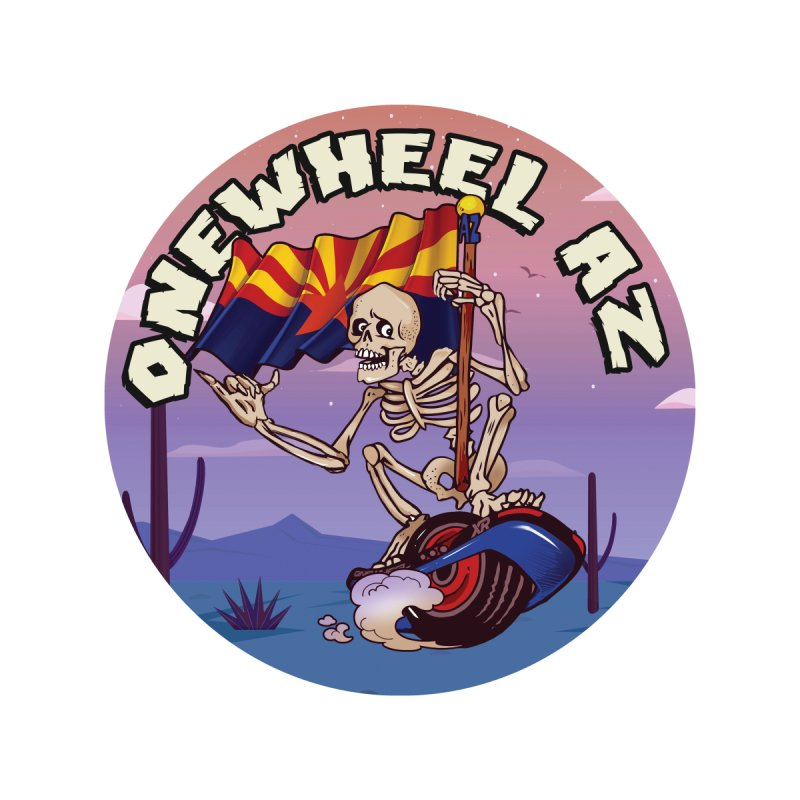 Onewheel AZ - Designed by Adam Dumper Men's Longsleeve T-Shirt by Onewheel Artist Shop