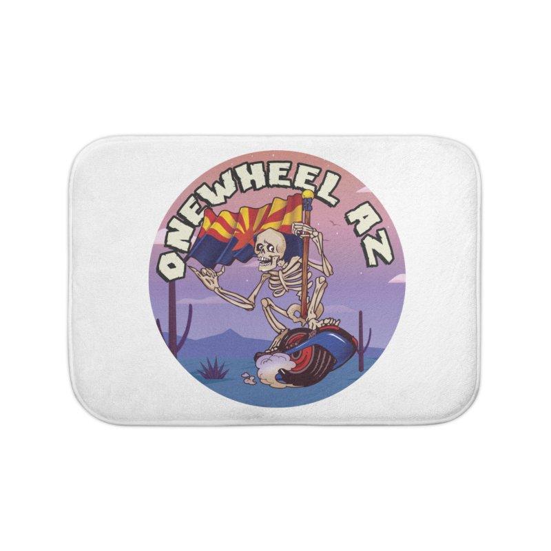 Onewheel AZ - Designed by Adam Dumper Home Bath Mat by Onewheel Artist Shop