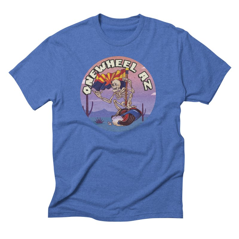 Onewheel AZ - Designed by Adam Dumper Men's T-Shirt by Onewheel Artist Shop