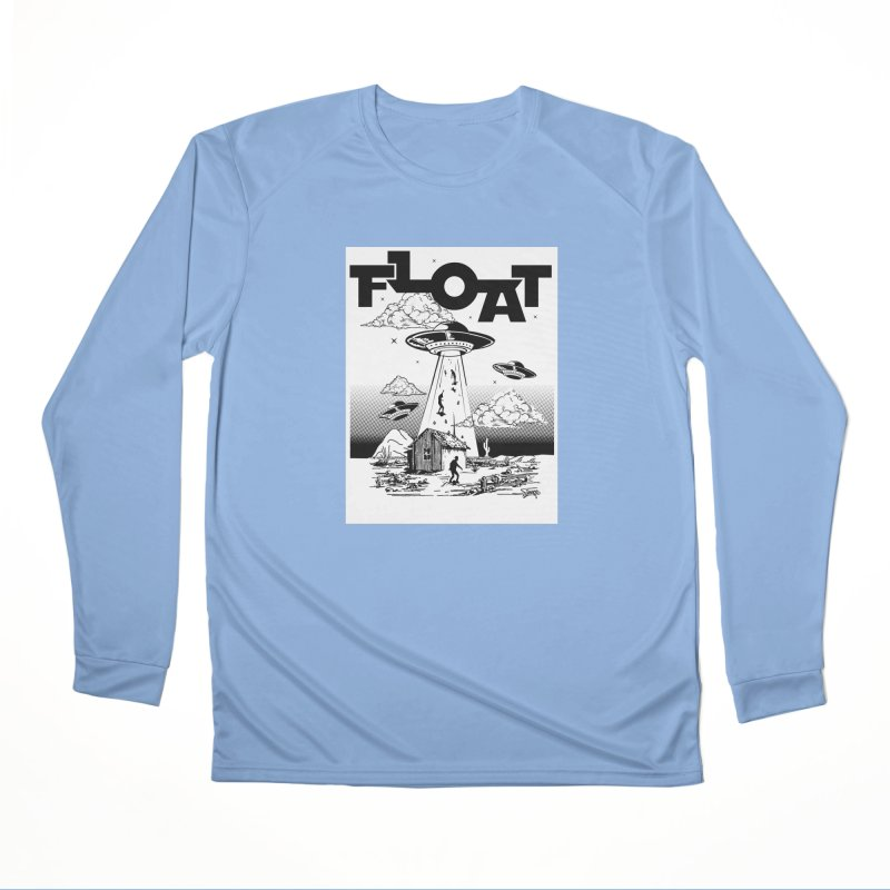 Who's Floating Men's Longsleeve T-Shirt by Onewheel Artist Shop