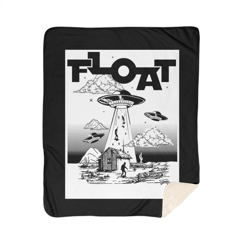 Who's Floating Home Blanket by Onewheel Artist Shop