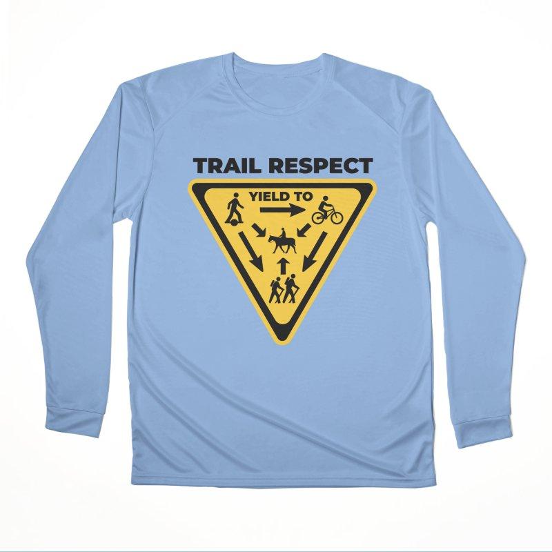 Trail Respect Men's Longsleeve T-Shirt by Onewheel Artist Shop