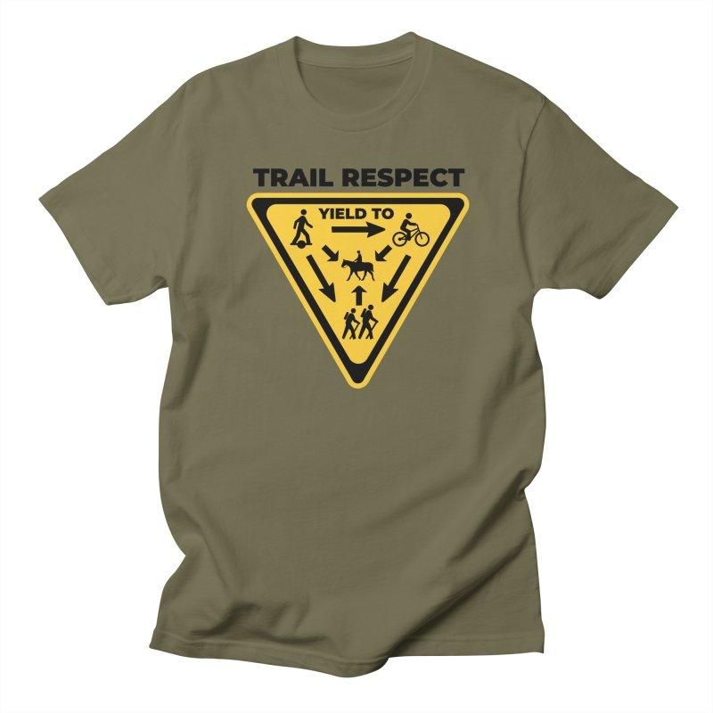 Trail Respect Men's T-Shirt by Onewheel Artist Shop