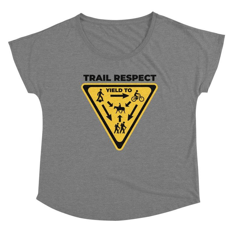 Trail Respect Women's Scoop Neck by Onewheel Artist Shop