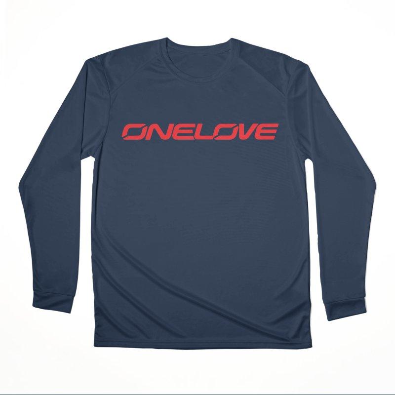 Onelove - Onewheel - Red Men's Longsleeve T-Shirt by Onewheel Artist Shop