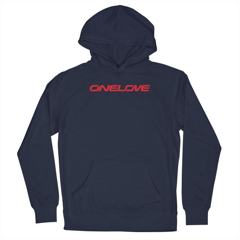 Onelove - Onewheel - Red Men's Pullover Hoody by Onewheel Artist Shop
