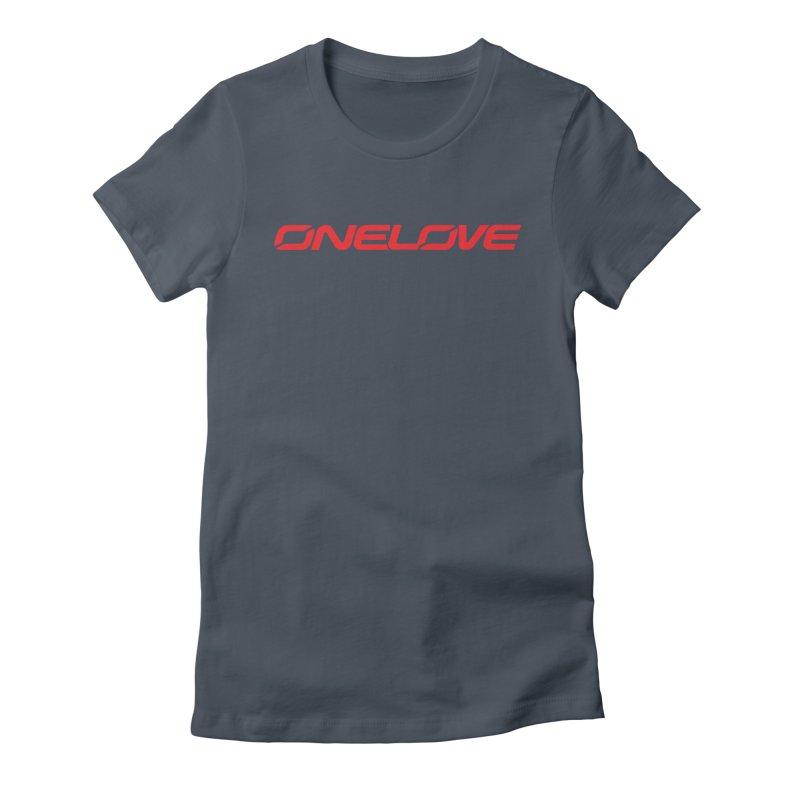 Onelove - Onewheel - Red Women's T-Shirt by Onewheel Artist Shop