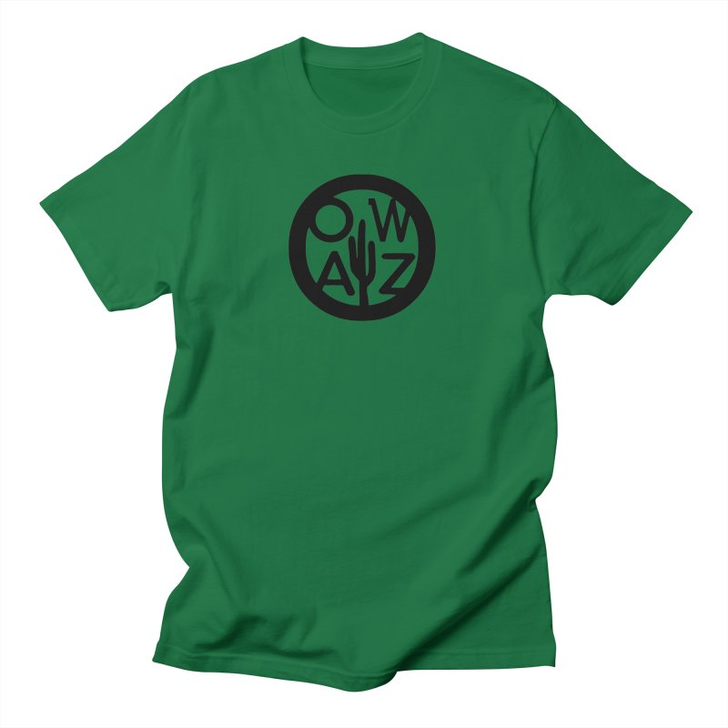 OWAZ Cactus Logo Men's T-Shirt by Onewheel Artist Shop