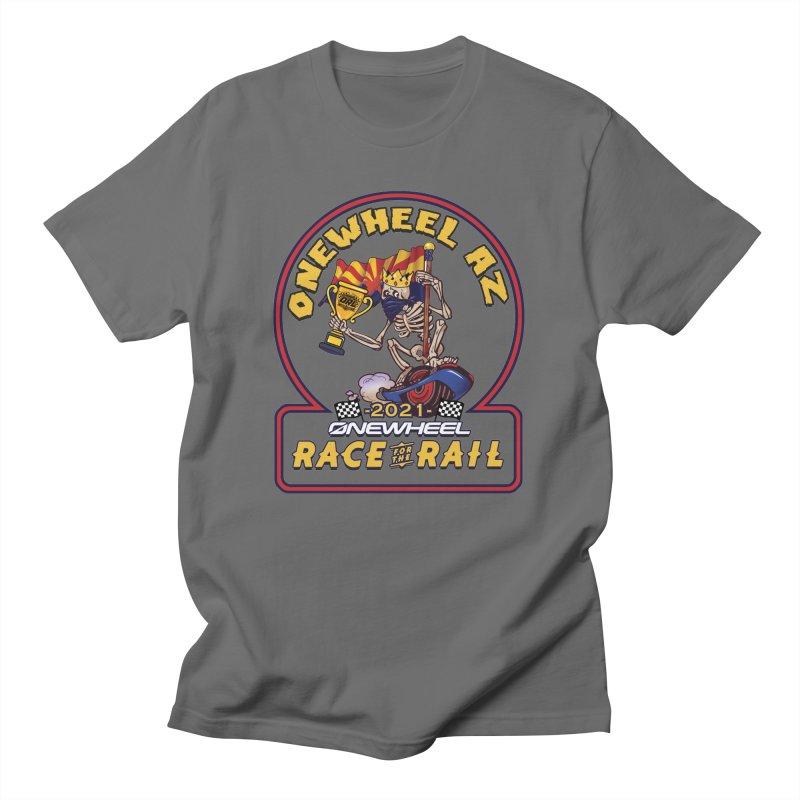 Race for the Rail 2021 Onewheel AZ Edition Men's T-Shirt by Onewheel Artist Shop