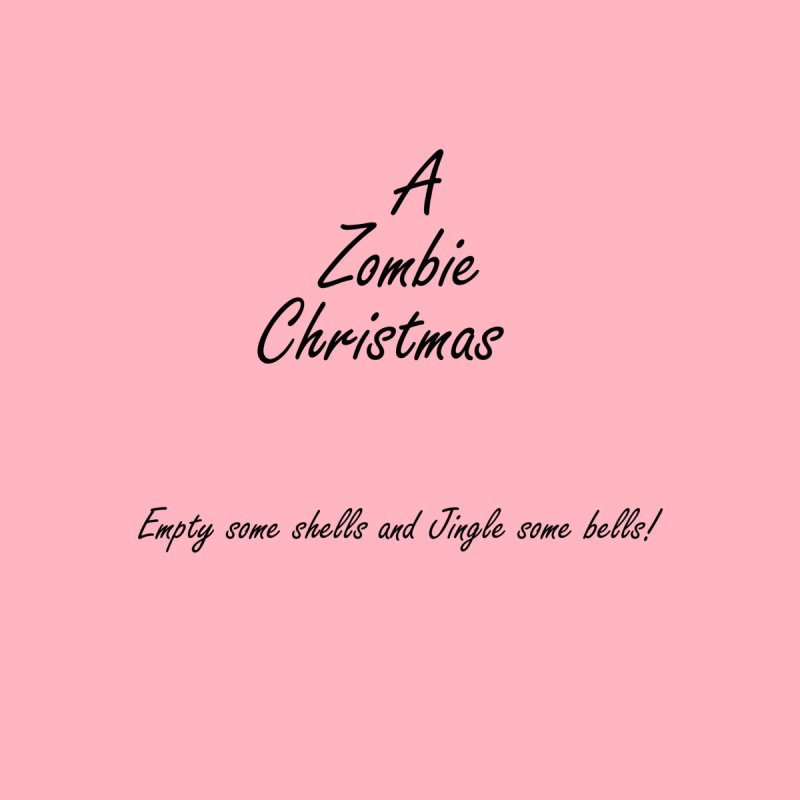 A Zombie Christmas in Pink by One Writer Selling