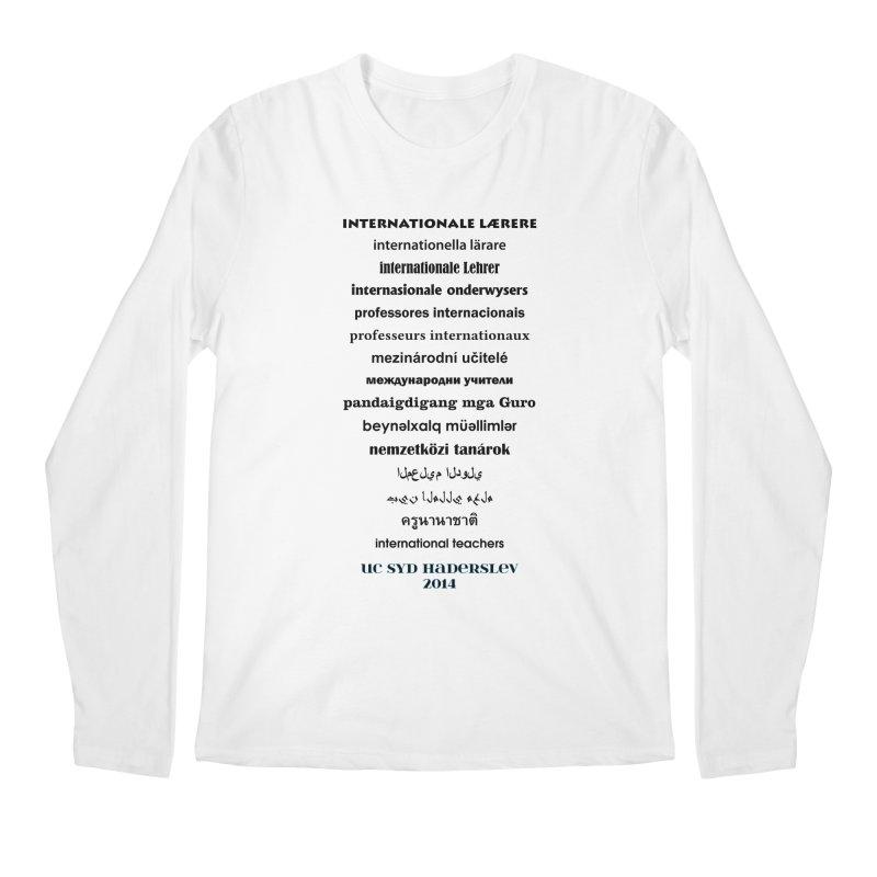 International Teachers 2014 (light) Men's Longsleeve T-Shirt by oni's Artist Shop