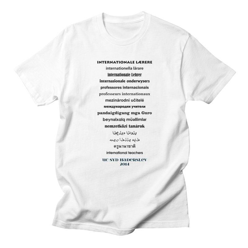 International Teachers 2014 (light) Men's T-Shirt by oni's Artist Shop