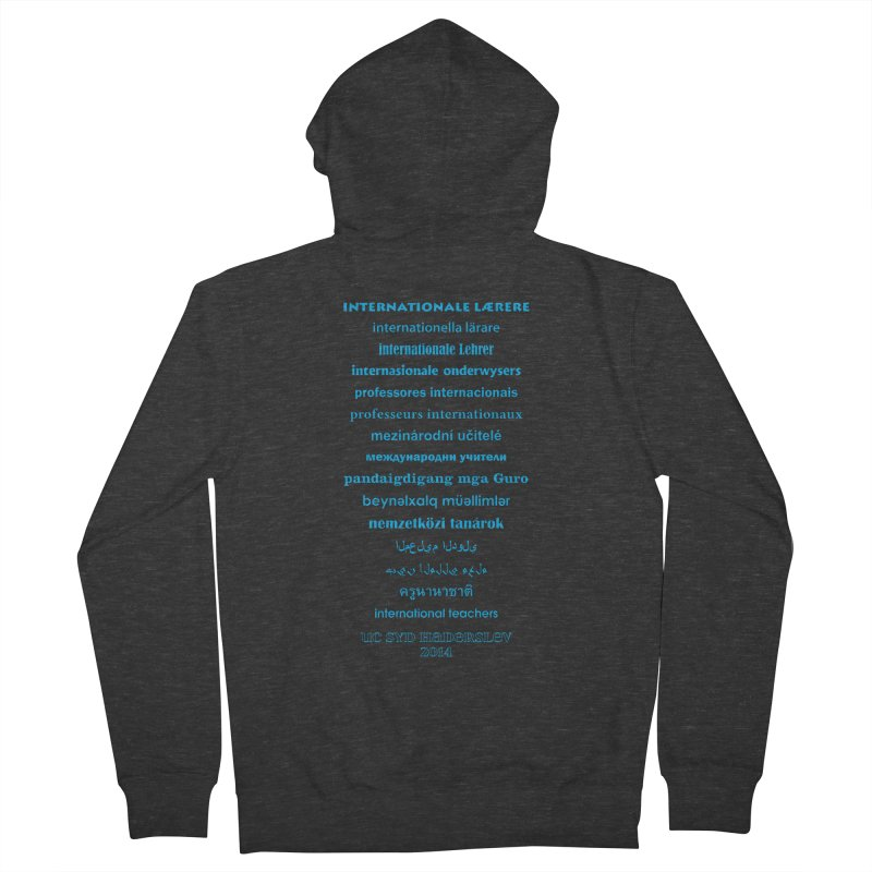 International Teachers 2014 (dark) Men's Zip-Up Hoody by oni's Artist Shop