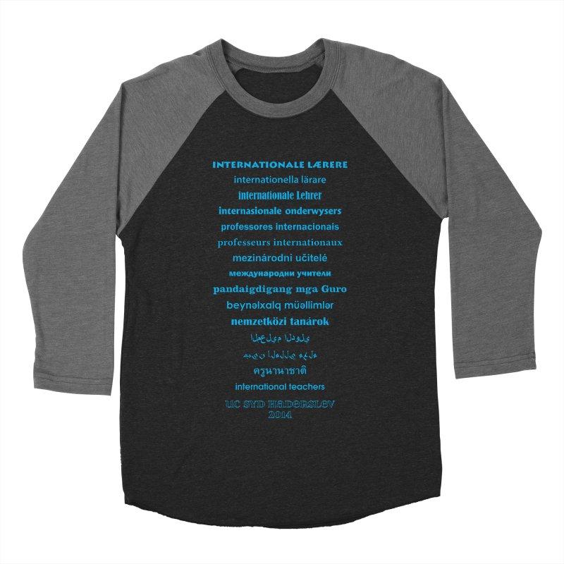 International Teachers 2014 (dark) Men's Baseball Triblend T-Shirt by oni's Artist Shop