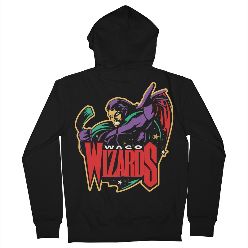 Waco Wizards Classic Men's French Terry Zip-Up Hoody by OniiChan's Artist Shop