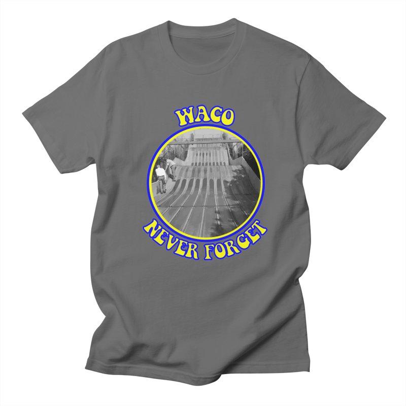 Waco Texas Super Slide Never Forget Men's T-Shirt by OniiChan's Artist Shop