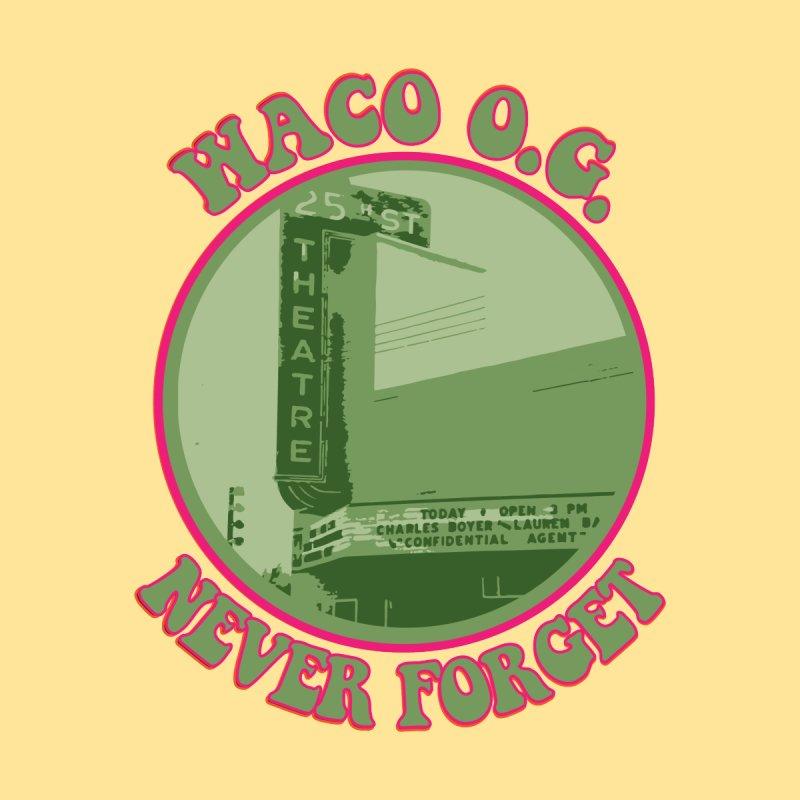 Waco OG 25th St Theater Men's T-Shirt by OniiChan's Artist Shop