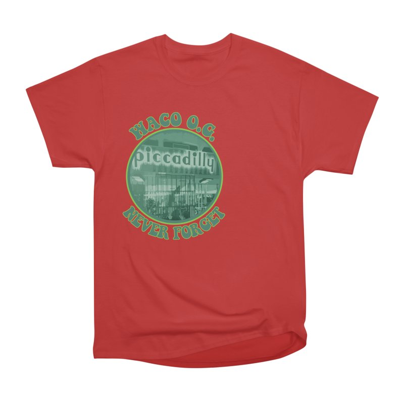 Waco OG Piccadilly Cafeteria in the Lake Air Mall Men's Heavyweight T-Shirt by OniiChan's Artist Shop