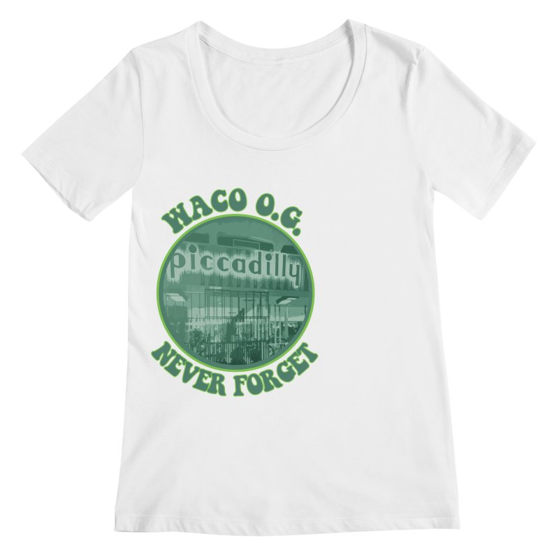 Waco OG Piccadilly Cafeteria in the Lake Air Mall Women's Regular Scoop Neck by OniiChan's Artist Shop