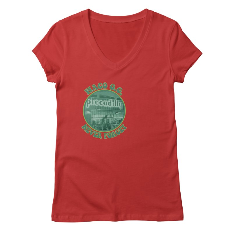 Waco OG Piccadilly Cafeteria in the Lake Air Mall Women's Regular V-Neck by OniiChan's Artist Shop