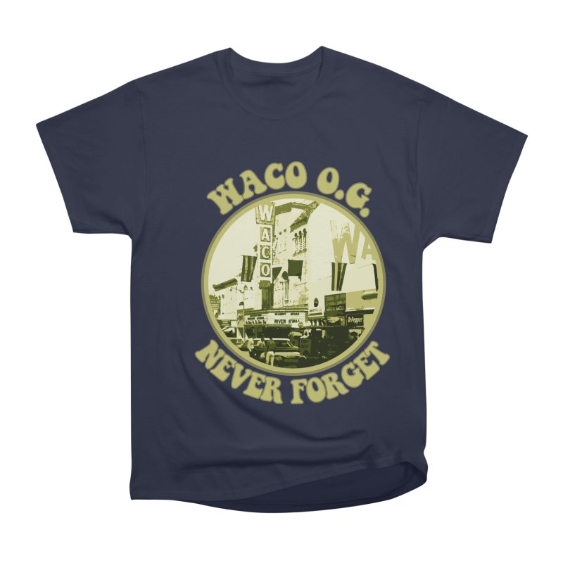 Waco OG Downtown Waco Theater Men's Heavyweight T-Shirt by OniiChan's Artist Shop