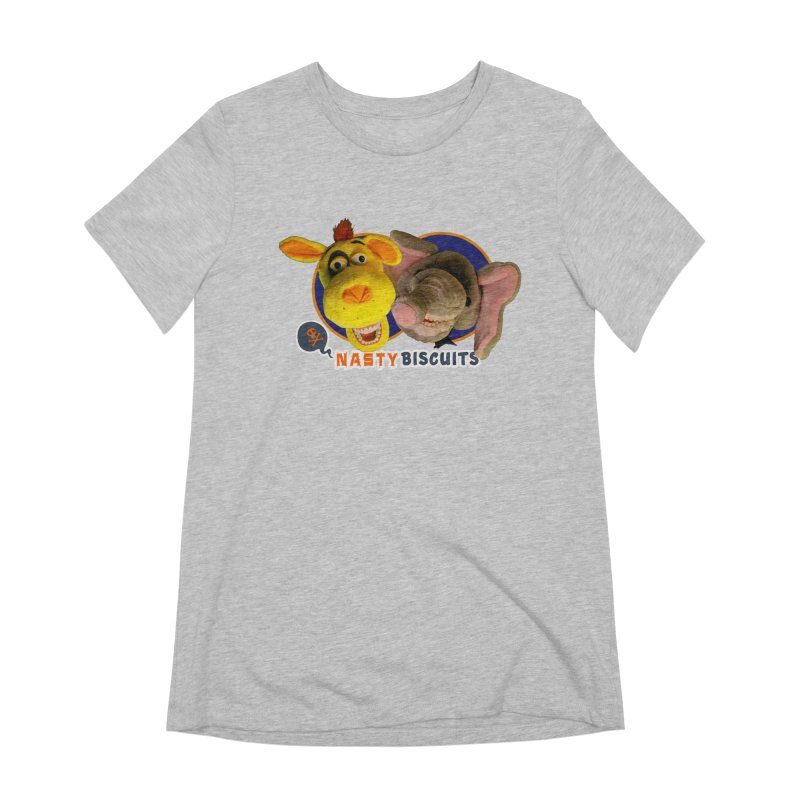 Nasty Biscuits Women's Extra Soft T-Shirt by OniiChan's Artist Shop