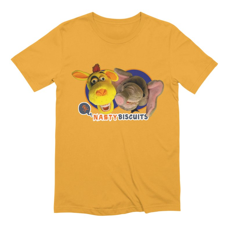 Nasty Biscuits Men's Extra Soft T-Shirt by OniiChan's Artist Shop