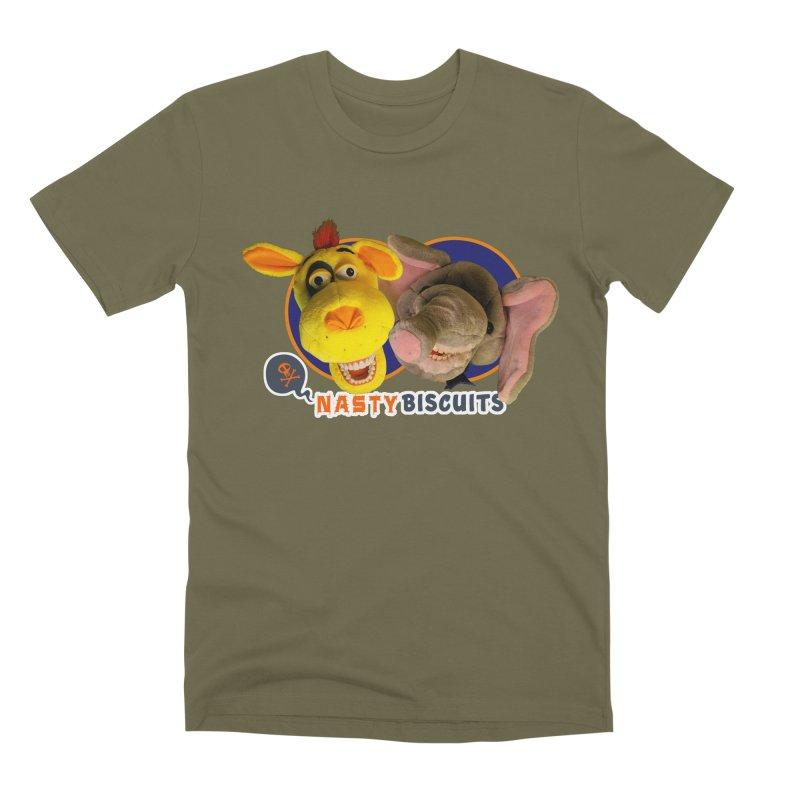 Nasty Biscuits Men's Premium T-Shirt by OniiChan's Artist Shop