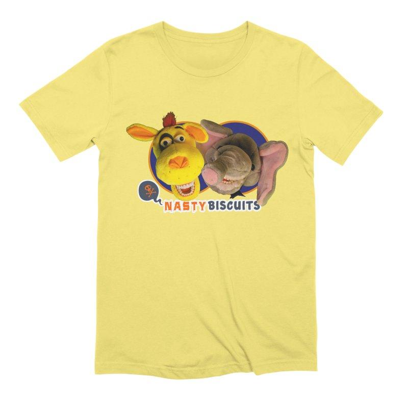 Nasty Biscuits Men's T-Shirt by OniiChan's Artist Shop