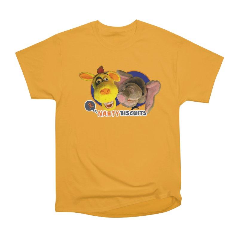 Nasty Biscuits Women's Heavyweight Unisex T-Shirt by OniiChan's Artist Shop