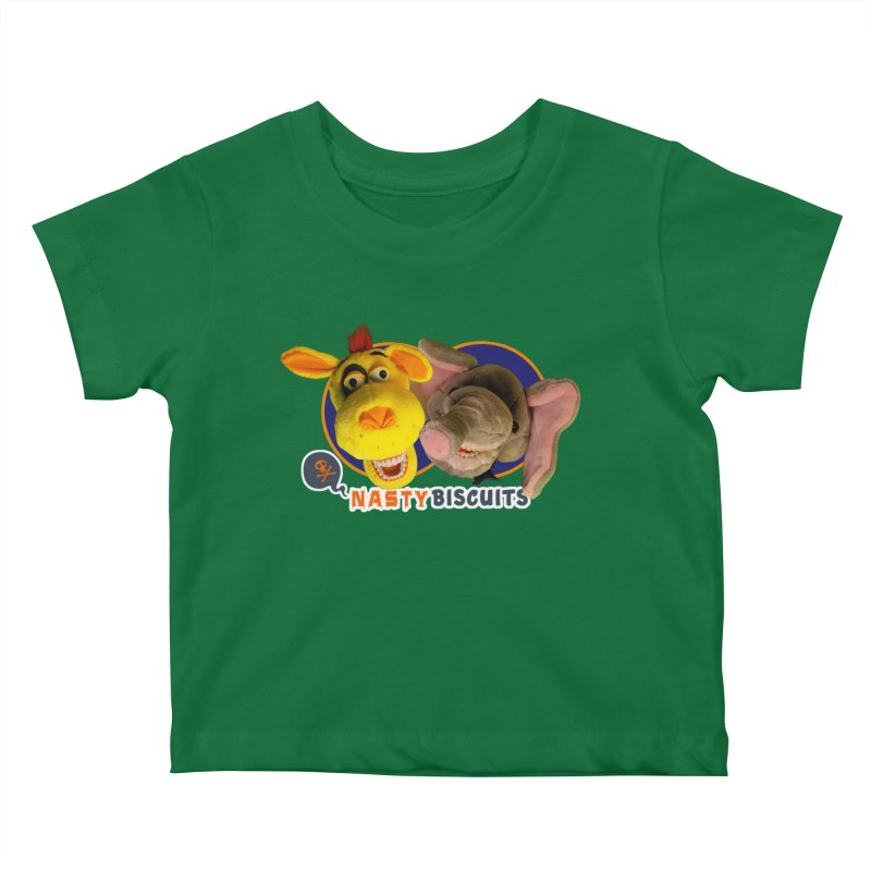 Nasty Biscuits Kids Baby T-Shirt by OniiChan's Artist Shop