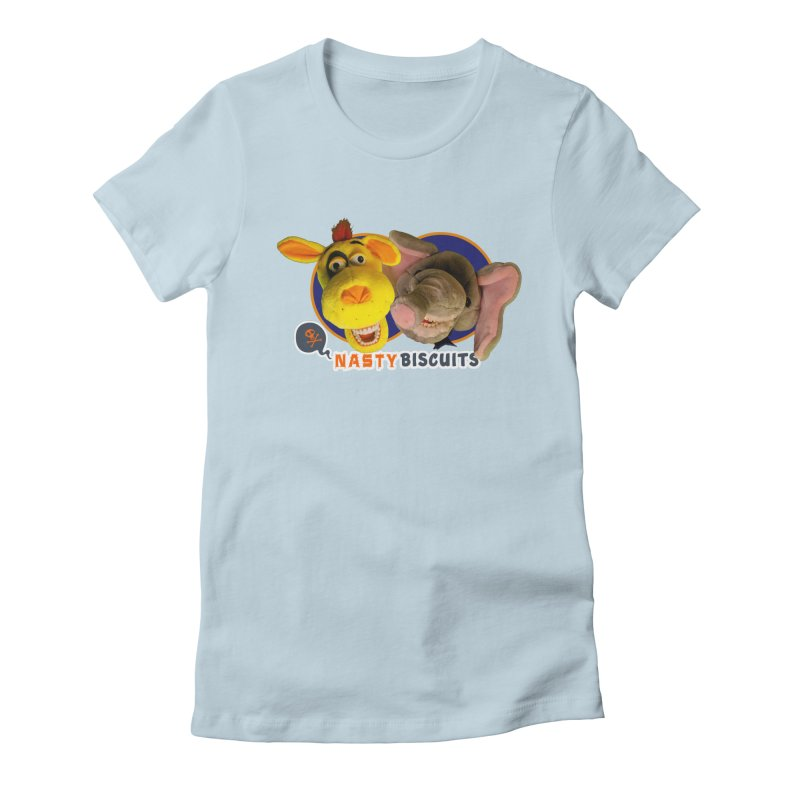 Nasty Biscuits Women's Fitted T-Shirt by OniiChan's Artist Shop