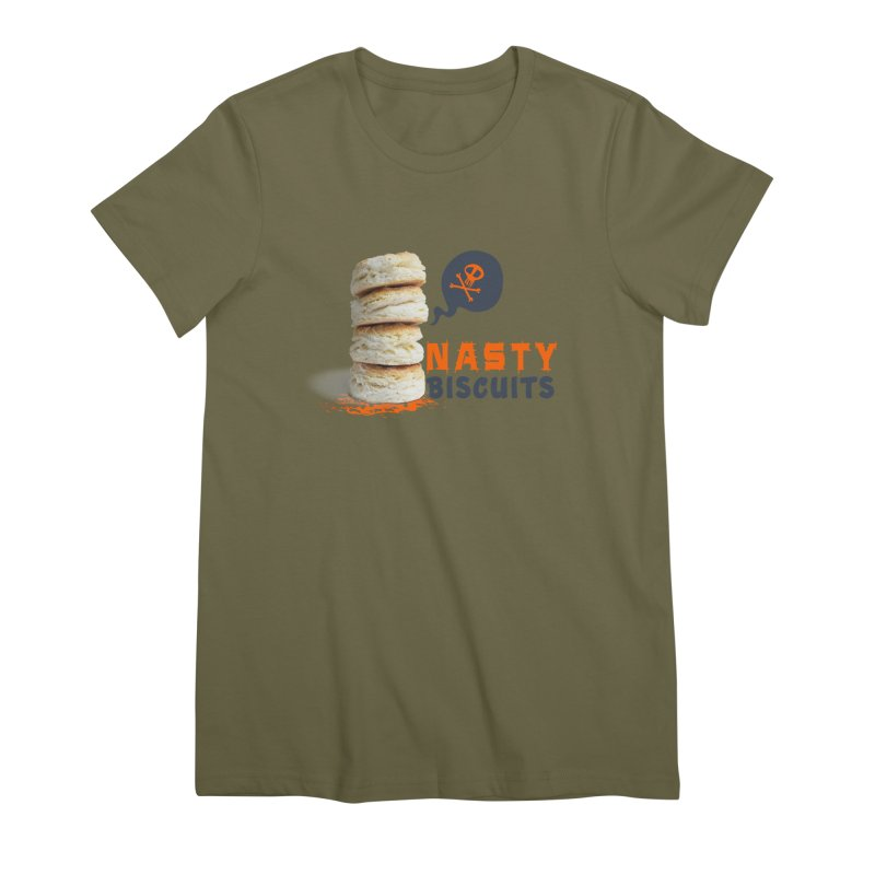 Nasty Biscuits Logo Women's Premium T-Shirt by OniiChan's Artist Shop