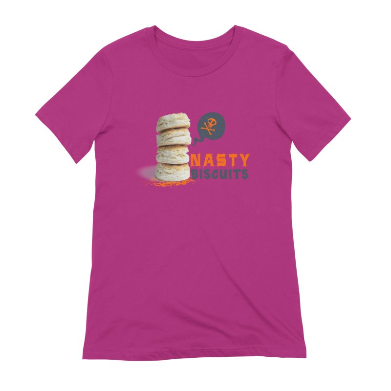 Nasty Biscuits Logo Women's Extra Soft T-Shirt by OniiChan's Artist Shop