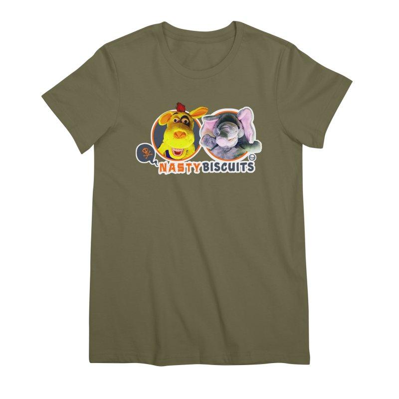 Nasty Biscuits Logo Women's Premium T-Shirt by OniiChan's Artist Shop