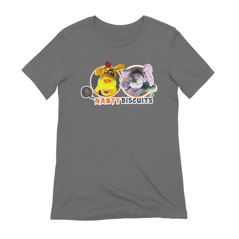 Nasty Biscuits Logo Women's T-Shirt by OniiChan's Artist Shop