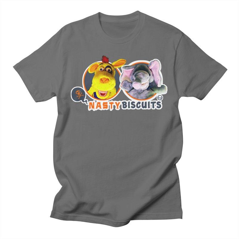 Nasty Biscuits Logo Men's T-Shirt by OniiChan's Artist Shop